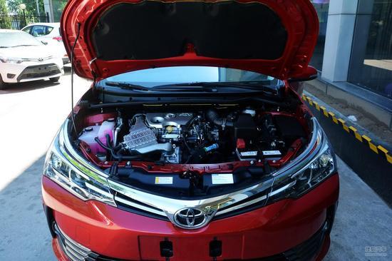 丰田 卡罗拉 实拍 底盘/动力 图片