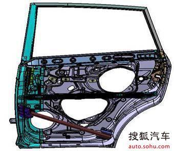 陆风x5-车身结构