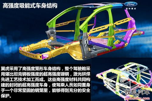 翼虎采用了高强度笼形车身结构