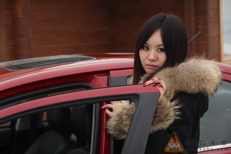 【美女车故事】晒晒我的首席男友小翼 广征男