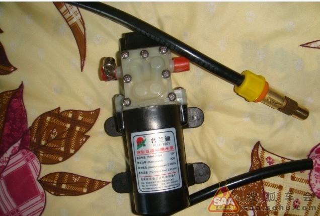 富康8v水泵电路图