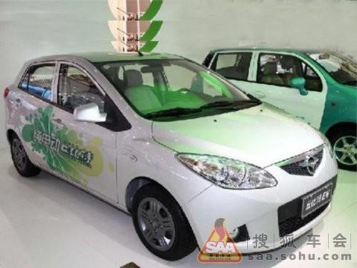 海马-丘比特纯电动轿车   长城欧拉采用48v直流电机.一次高清图片