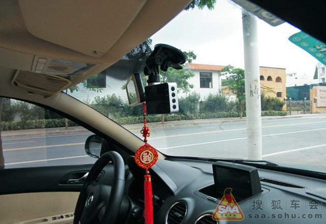 朗逸加装行车记录仪