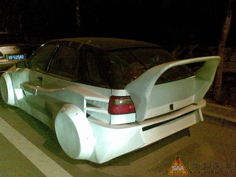 史上最强悍的雪铁龙富康 美人豹改装车 高清图片