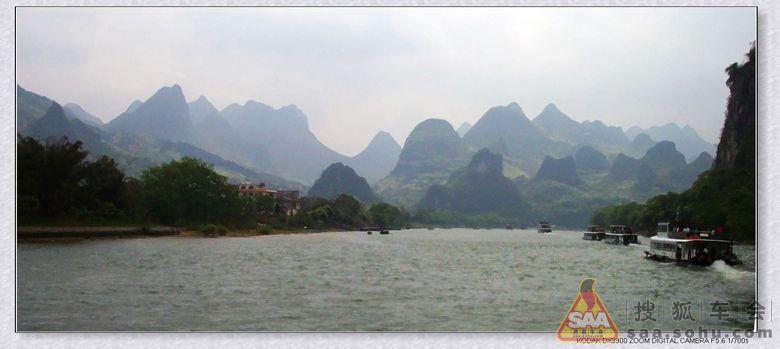 漓江风景区是世界上规模最大