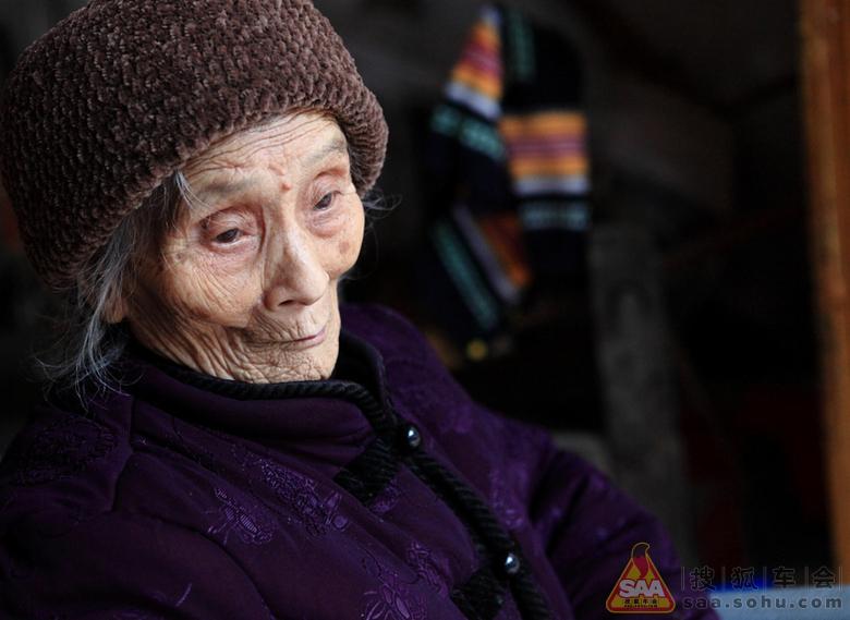 巴马长寿村的百岁老人