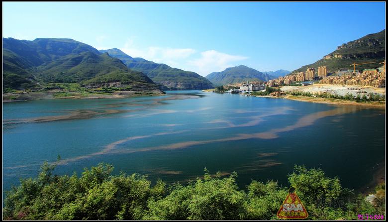 湄潭县抄洛乡河平村天鹅池风景