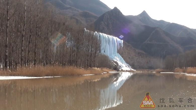 从奔流不息到戛然而止--冰瀑 - 北京红马车友会