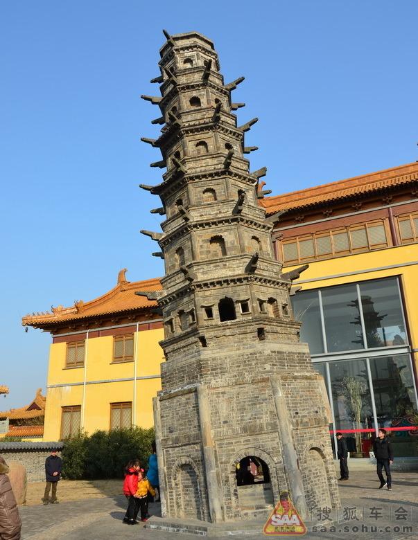 游南京方山定林寺,看世界第一斜塔