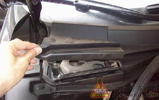夏季用车那点事 本田cr-v清洗空调系统 - crv车友会; cr-v夏季用车那