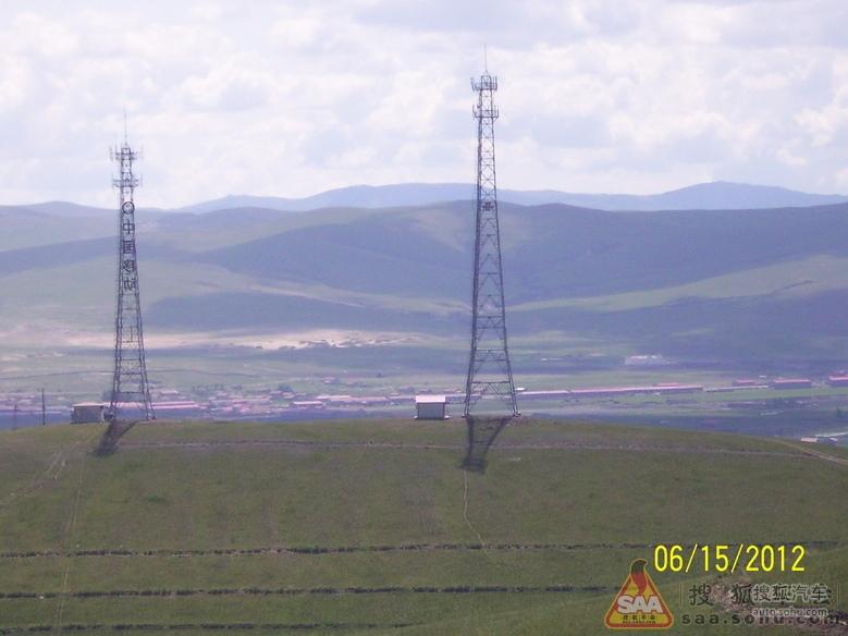 巨大的中国移动信号塔