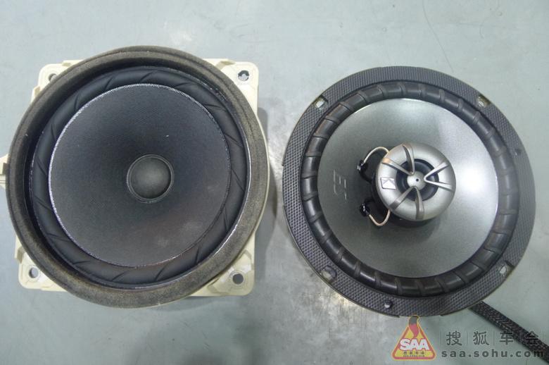 现代索纳塔8代汽车音响改装升级 北京沃富林改装案例