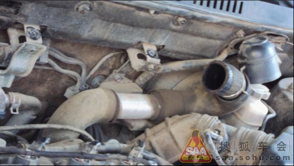 柴菲动力上不去,可能是空气滤芯器的问题 华泰圣达菲论坛 高清图片