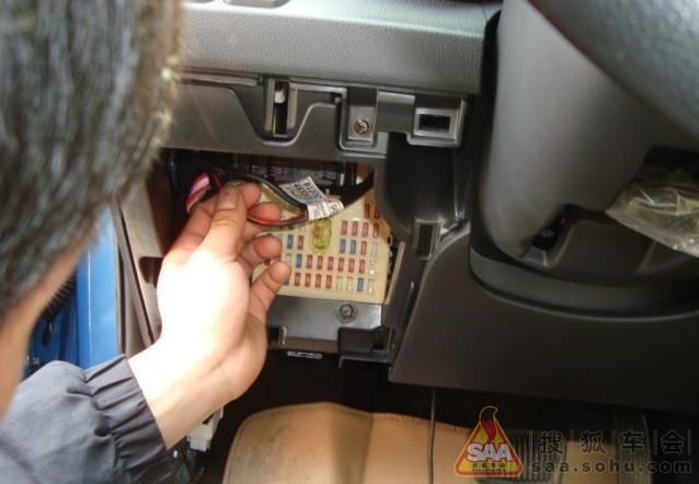 k2安装自动关窗和防盗器